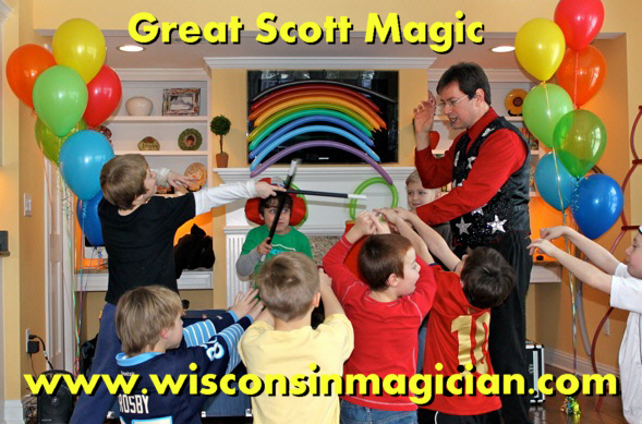 Birthday Party for Kids with Children's Magician Great Scott